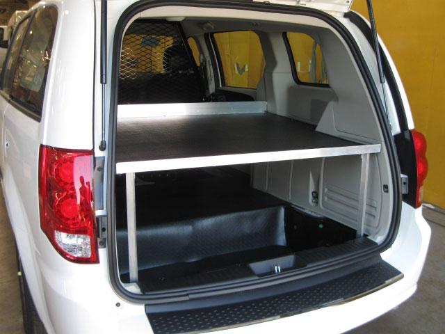 Mini Van Shelving Solutions