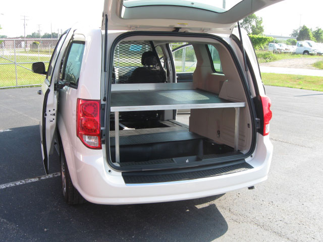 Mini Van Shelving Solutions