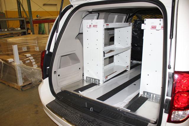 Ram >> Mini Van - Shelving Solutions