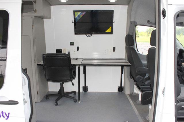 2018 Chevy Conversion Van >> Sprinter Van - Mobile office