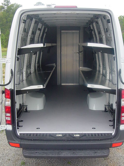 Sprinter Van Shelving Solutions